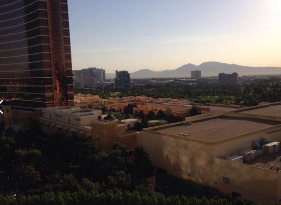 The Palazzo Resort Hotel Casino: Our Window View