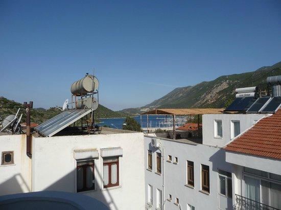 Hotel Kekova: Aussicht Dachterrasse...