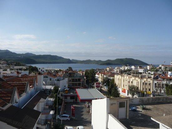 Hotel Kekova: Aussicht Dachterrassee...