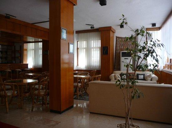 Hotel Kekova: Aufenthaltsraum mit Bar...