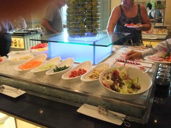 Renaissance Riverside Hotel Saigon: お野菜も新鮮
