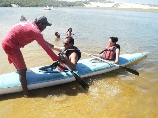 Lagoa de Pitangui: canoagem