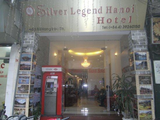 Silver Legend Hanoi: Hotel entry