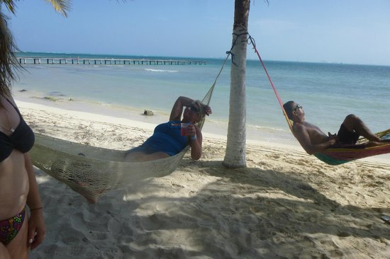 Playa Norte: Hammocks on the beach, Isla Mujeres