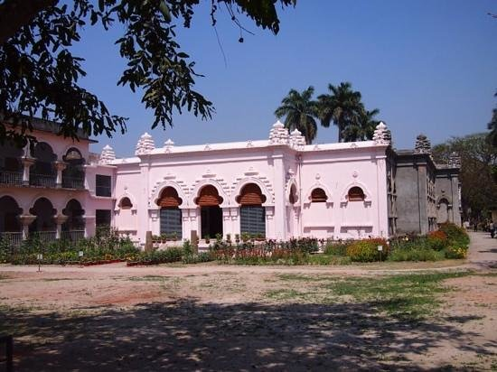 Rajshahi City, Bangladesch: Varendra Research Museum in the process of being renovated March 2014