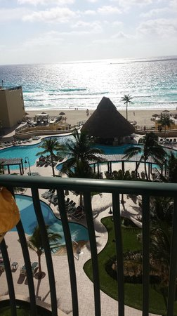 The Royal Sands Resort & Spa All Inclusive: Vista do quinto andar!