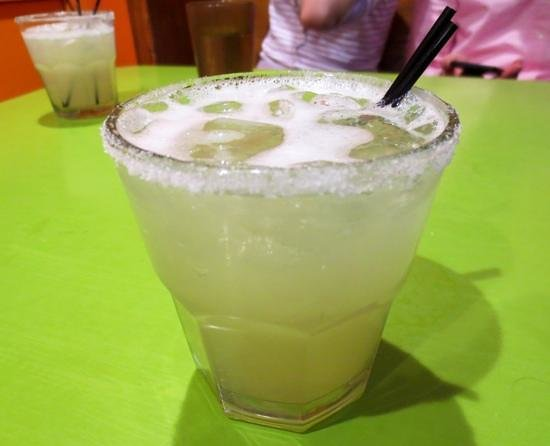 Mesa Verde: Great margaritas with fresh lime juice