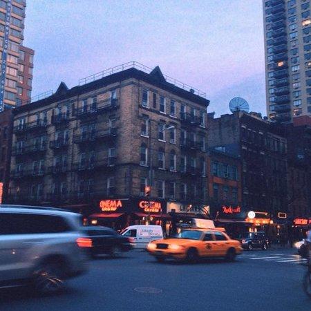 New York Budget Inn: Gorgeous, even on a gloomy day