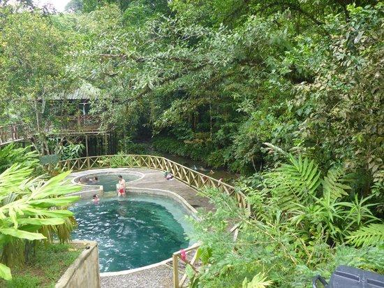 Ecolodge Nautilos: The natural hot springs