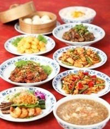 Juukeihanten Yokohama Chinatown Hotel: 重慶飯店 別館 コース料理