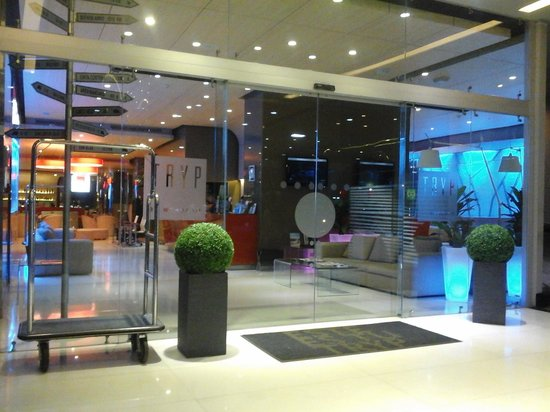 Tryp by Wyndham Panama Centro: the entrance