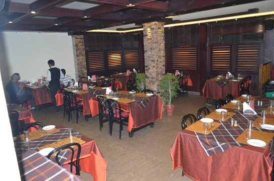 City Hut Family Dhaba : One of the 3 dining areas.