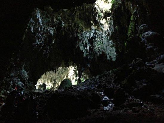 Callao Cave : inside the cave