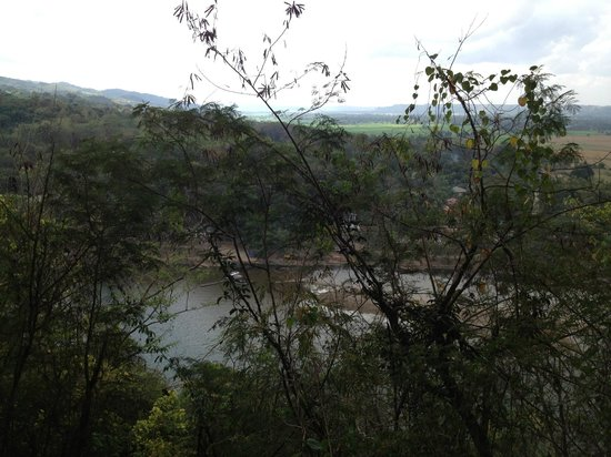 Callao Cave : a view from the top