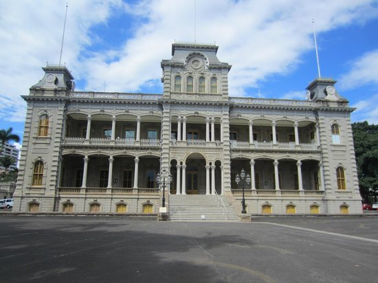 Iolani Palace From the Grounds