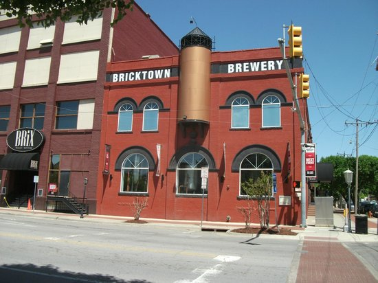 Bricktown Brewery: Outside of brewery