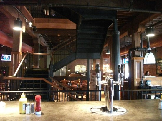 Bricktown Brewery: Interior