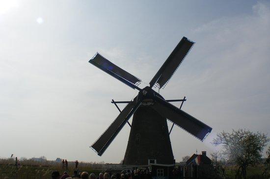 Réseau de moulins de Kinderdijk-Elshout : c.1738 windmill