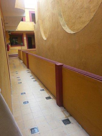 Hotel de Allende : Pasillo del hotel