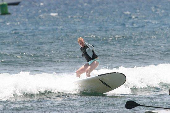 Maui Surf Clinics : Surfing