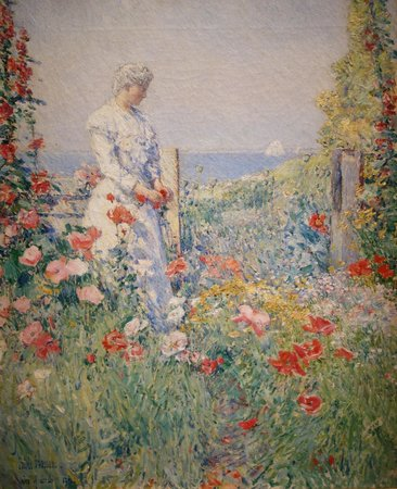 Smithsonian American Art Museum: Childe Hassam: In the Garden