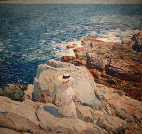 Smithsonian American Art Museum: Childe Hassam: South Ledges, Appeldore