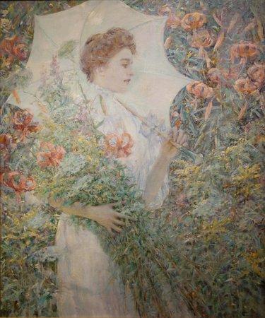 Smithsonian American Art Museum: Robert Reid: The White Parasol