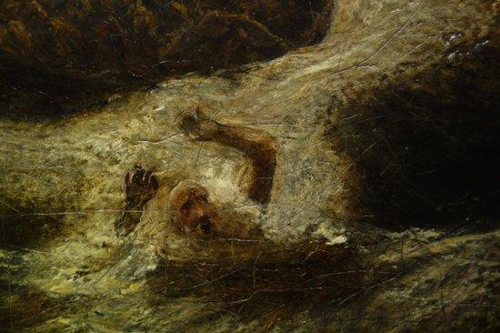 Smithsonian American Art Museum: A. P. Ryder: Jonah: Detail
