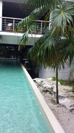 Luxury Bahia Principe Sian Ka'an: Tao lap pool