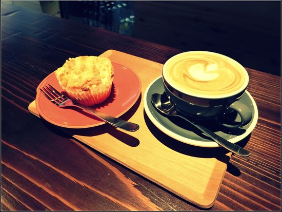 Vermillion - espresso bar & info. : looks great coffee..isnt it