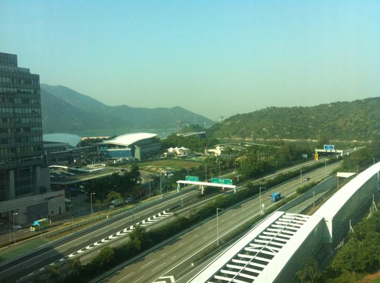Novotel Citygate Hong Kong : room with a view