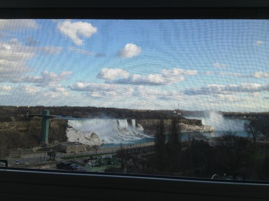 Crowne Plaza Niagara Falls - Fallsview: View from the room