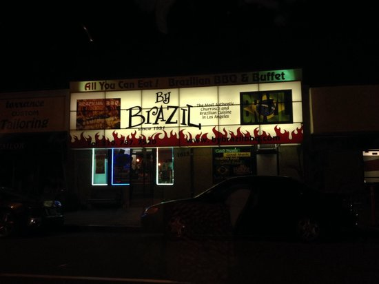 By Brazil Restaurant: Tiny little place off Cabrillo
