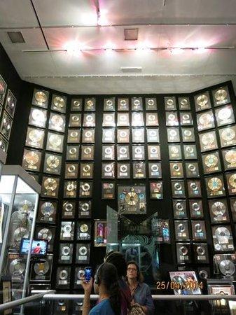 Graceland : Music records everywhere