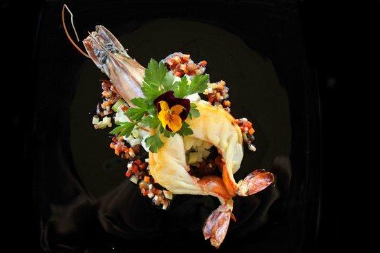 Cafe du Levant: Crevettes geantes a la plancha