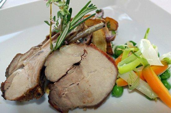 Cafe du Levant: Declinaison de cochon laineux