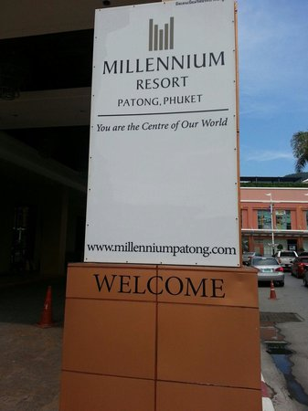 Millennium Resort Patong Phuket : 外観