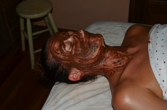 Samasati Retreat & Rainforest Sanctuary: Chocolate facial at Samasati spa
