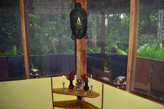 Samasati Retreat & Rainforest Sanctuary: At Meditation Hall
