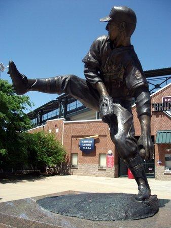Chickasaw Bricktown Ballpark: Warren Spahn