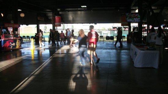 Chickasaw Bricktown Ballpark: Inside