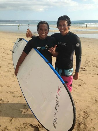 ‪Frengki and Putu Balinese Surf Guides‬