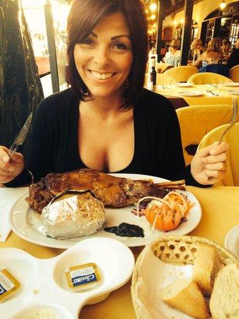 Fado Rock Steak House: A whole leg of lamb !!!!!!