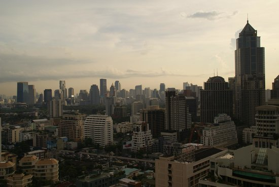 Landmark Bangkok: View from the room #2715