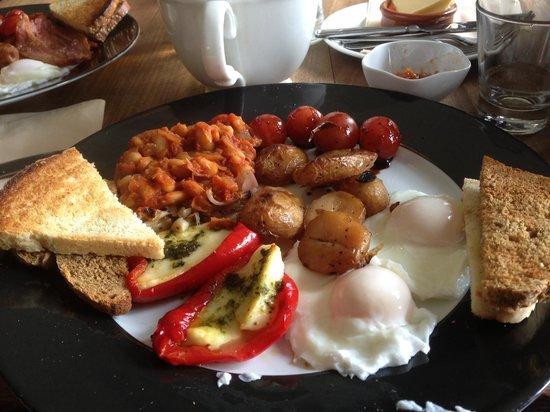 Doolin Cafe: Veggie Breakfast