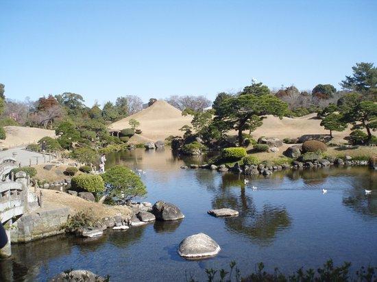 Suizenji Jojuen Garden : 庭園