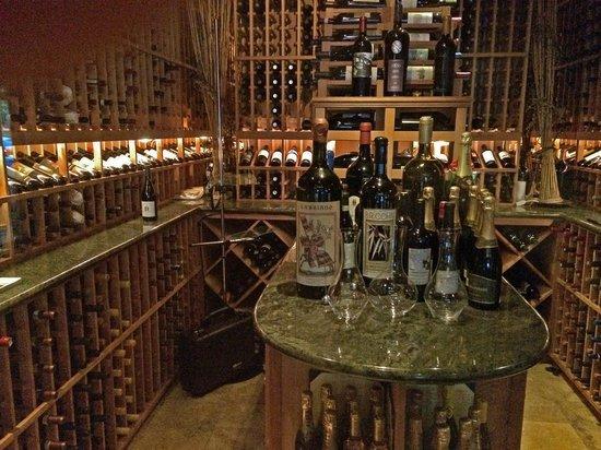 Vivace Ristorante: The Wine room at Vivace