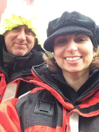 Eagle Wing Whale Watching Tours: Bundled Up