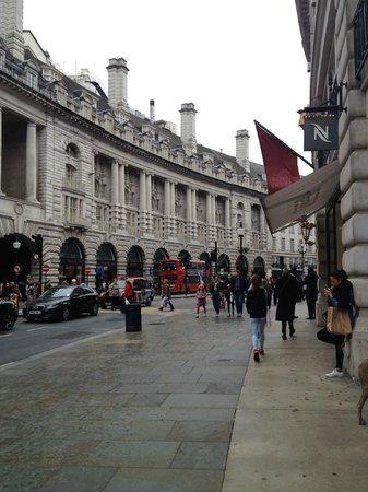 Regent Street: shops galore