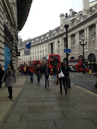 Regent Street: beautiful